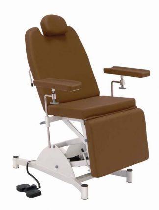 Elektrisk prøveudtagningsstol med justerbare armlæn