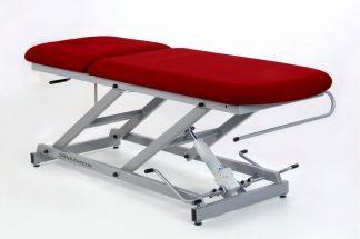 Hydraulisk behandlingsbord - 2 sektioner - papirholder