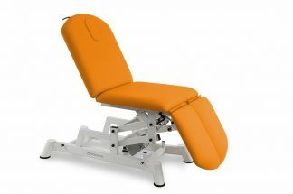 Elektrisk behandlingsbord - 3 sektioner - individuelle benstøtter