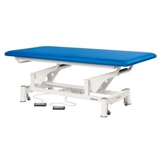 Elektrisk behandlingsbord - Ekstra bred - 1 sektion - Hjul