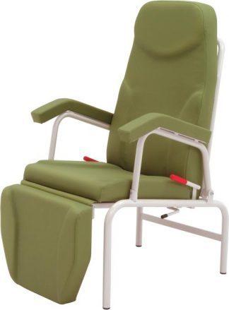 Stationær hvilestol med armlæn - Individuel justering af ryglæn og benstøtter