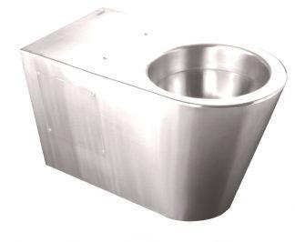 Rustfri stål toilet