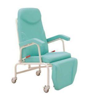 Hvilestol med armlæn og hjul
