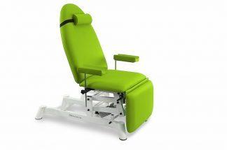 Elektrisk prøveudtagelsesstol - 1 motor - Justerbare armlæn (højde / rotation)