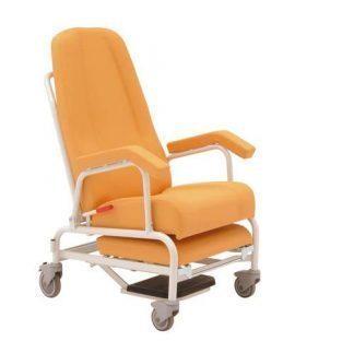 Hvilestol med armlæn og hjul - Ekstra benstøtter