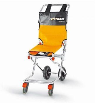 Evakueringsstol med 2 eller 4 hjul - Kompakt og foldbar