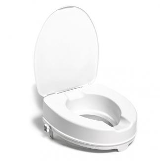 Toiletsædehejser med låg - 10 cm